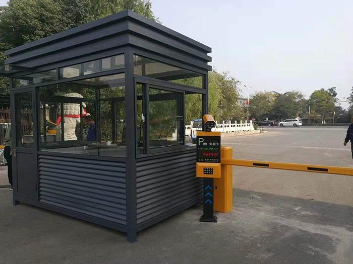 国网铜山供电公司选择门道车牌识别系统加岗亭