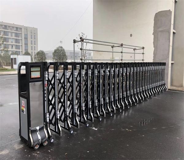 安徽萧县西域红花油有限公司选择门道电动伸缩门产品