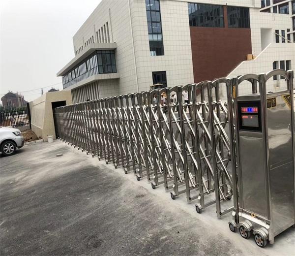 徐州铜山区娇山湖中学择徐州门道智能科技电动门
