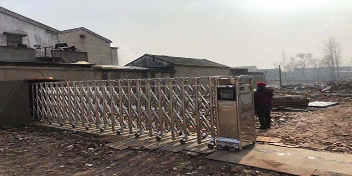 徐州刘长明二手钢结构有限公司选择门道电动伸缩门