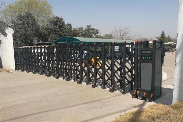 庆祝徐州第二公墓选择徐州门道智能科技徐州第二公墓电动伸缩门产品