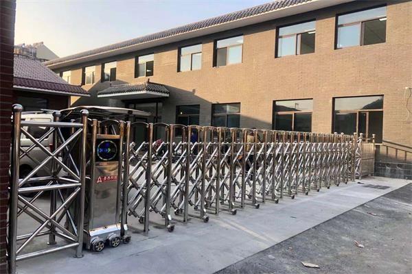 庆祝徐州徐州下淀科技产业园选择徐州门道智能科技电动伸缩门产品