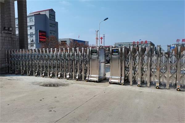 徐州沛县姚桥煤矿选择徐州门道智能科技电动伸缩门产品